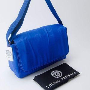 Versace Bags - Young Versace Medusa Logo Diaper Messenger Bag